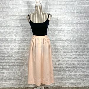 Vintage Apostrophe Light Pink Maxi Skirt